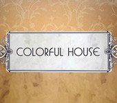 Papel de Parede Colorful House