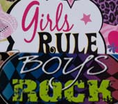 Girls Rule / Boys Roc